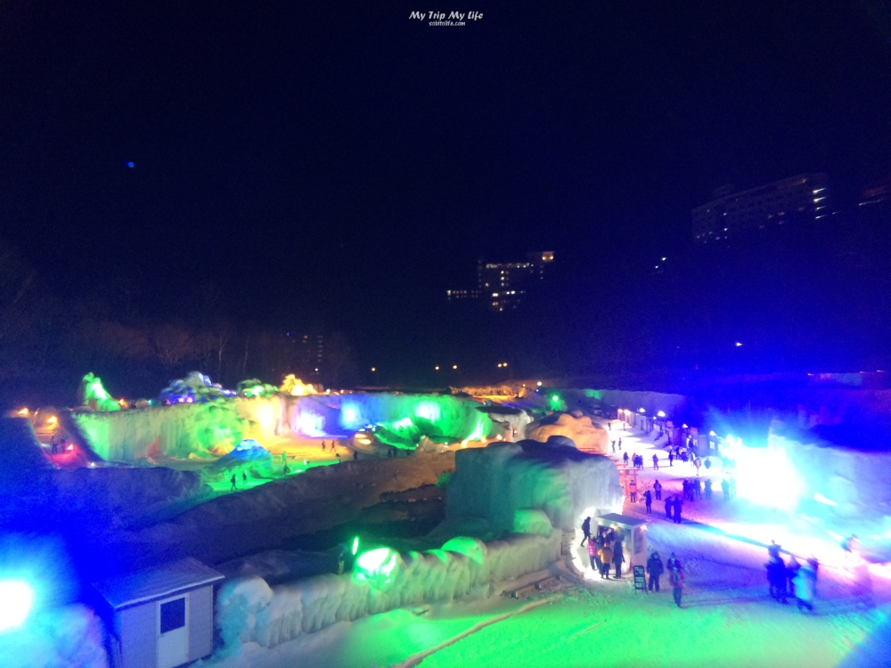 【日本旅行】北海道 – 2019層雲峽冰瀑祭 @MY TRIP ‧ MY LIFE