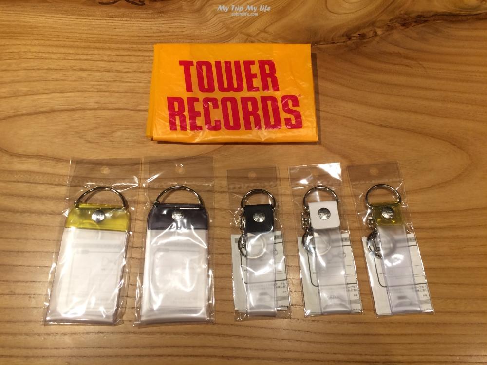 《迷妹迷弟必備》Tower Record淘兒音樂城演唱會周邊商品 @MY TRIP ‧ MY LIFE