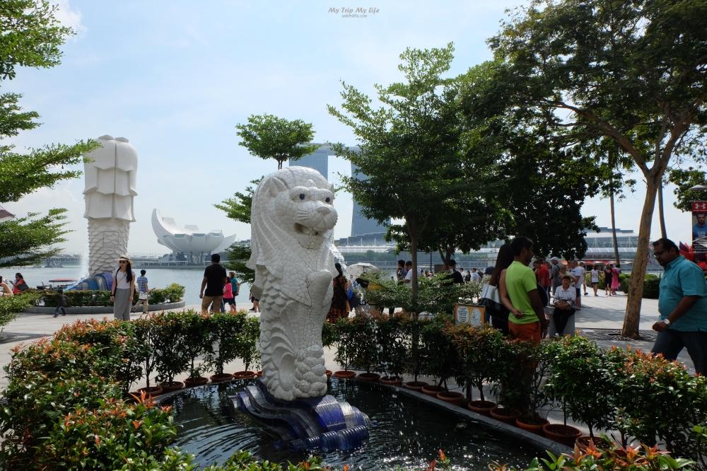 【新加坡旅遊】Day2 魚尾獅公園、哈芝巷Haji Lane @MY TRIP ‧ MY LIFE