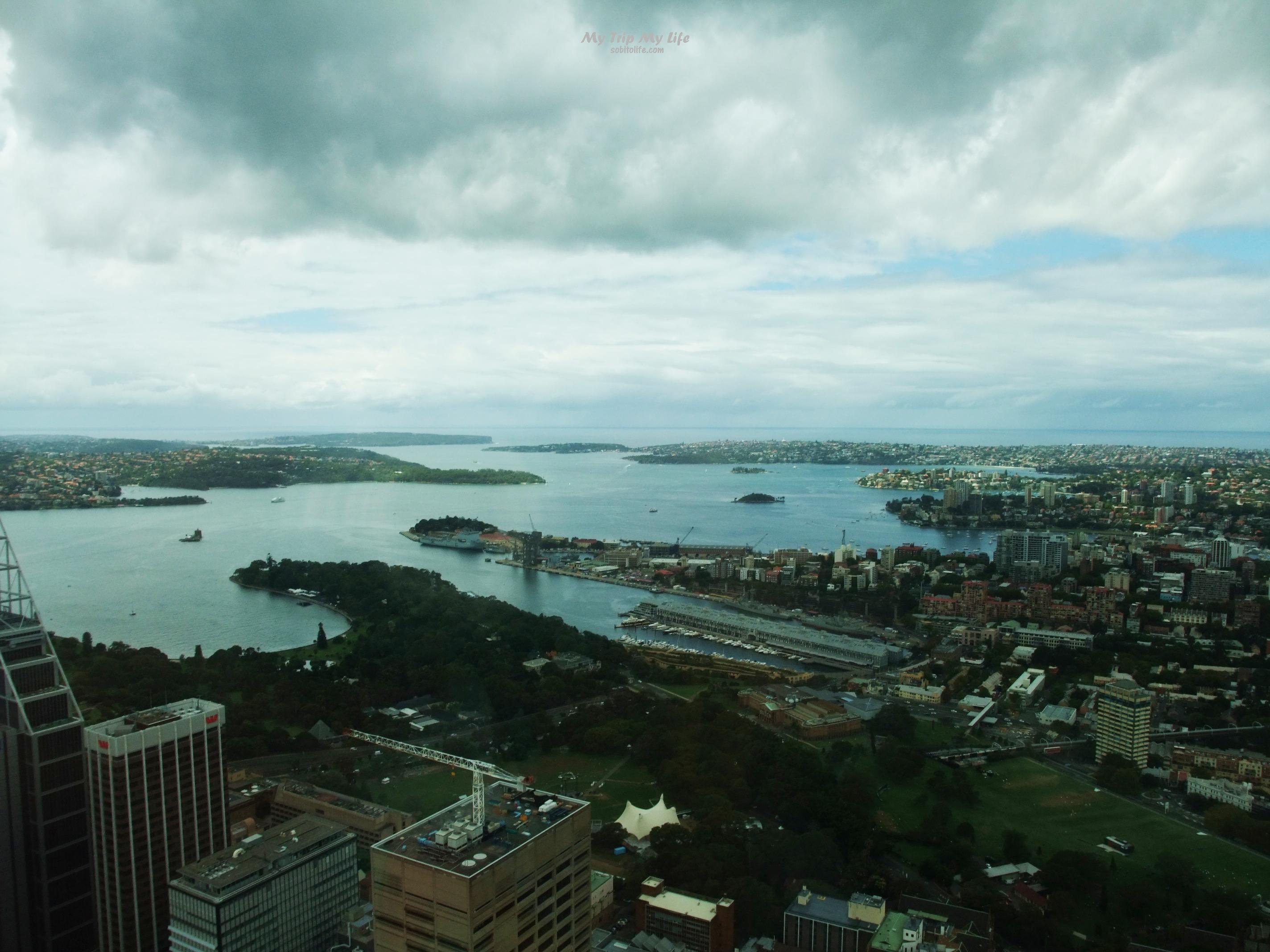 【澳洲旅行】雪梨塔自助餐、聖母主教座堂 @MY TRIP ‧ MY LIFE