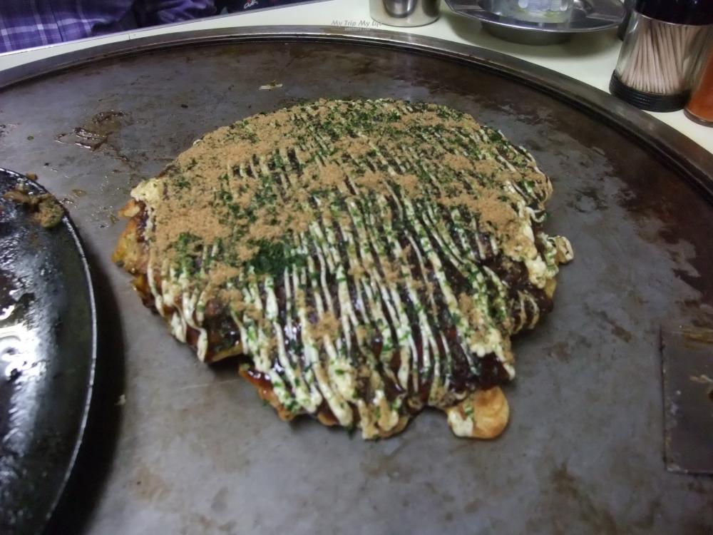 《美食紀錄》大阪燒小餐館「かく庄」 @MY TRIP ‧ MY LIFE