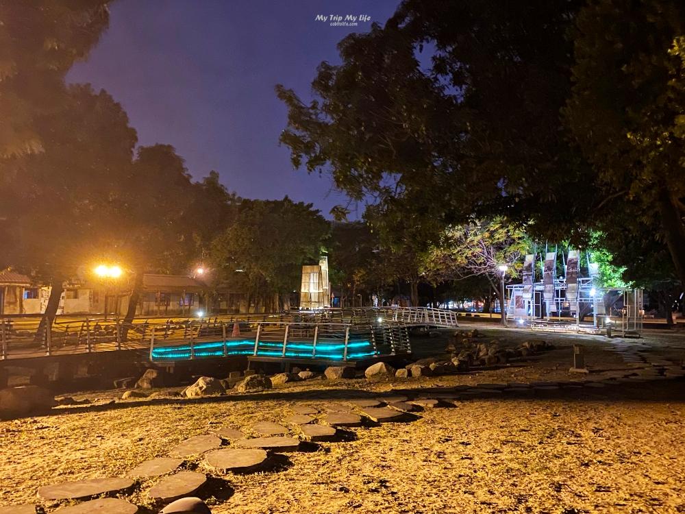 台南南區|夜訪「水交社公園」及「水交社文化園區」 @MY TRIP ‧ MY LIFE