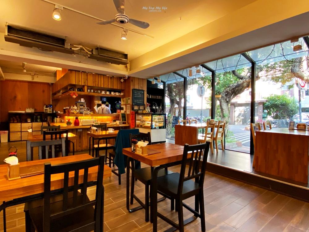 《美食紀錄》台北民生社區 – 巷弄間寂靜的「晴空巷」咖啡廳 @MY TRIP ‧ MY LIFE