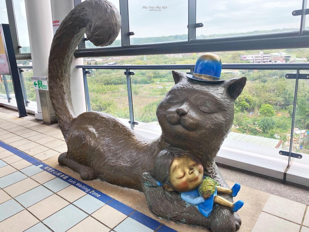 新北淡水|搭乘淡水輕軌半日遊「幾米主題列車」、「幾米雕塑」打卡必拍 @MY TRIP ‧ MY LIFE
