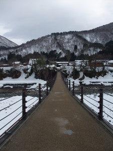 【日本旅行】11'新年之旅part 1-春天(?!)就是要衝白川鄉 @MY TRIP ‧ MY LIFE