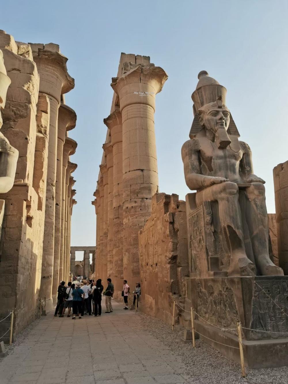 埃及旅遊|路克索神廟Luxor Temple @MY TRIP ‧ MY LIFE